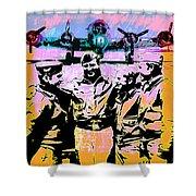 Comradeship Shower Curtain by Gary Grayson
