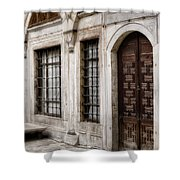 Concubine  Court Shower Curtain by Joan Carroll
