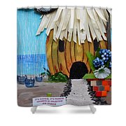 Conserve Shower Curtain by Jamie Frier