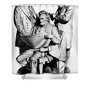 Council Of War Shower Curtain by Granger