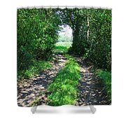 Country Road Shower Curtain by Carol Groenen