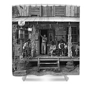 Country Store, 1939 Shower Curtain by Granger