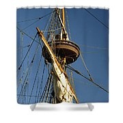Crows Nest Shower Curtain by Skip Willits