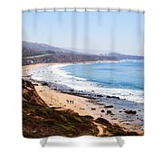 Crystal Cove Orange County California Shower Curtain by Paul Velgos