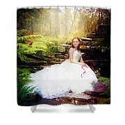 Curious Friends Shower Curtain by Mary Hood