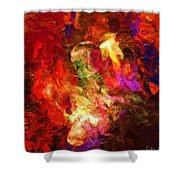 Damnation Shower Curtain by David Lane