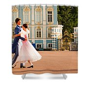 Dance at Saint Catherine Palace Shower Curtain by David Smith
