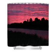 Dawn Glory Shower Curtain by Richard De Wolfe