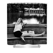 Day Dreamer Shower Curtain by Paul Ward