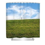 Daydreams- Nature Photograph Shower Curtain by Linda Woods