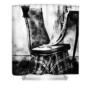 Death Of A Songbird  Shower Curtain by Jerry Cordeiro
