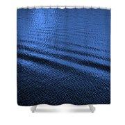 Deep Blue Sea Shower Curtain by Carol Groenen
