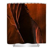 Desert Beam Shower Curtain by Mike  Dawson