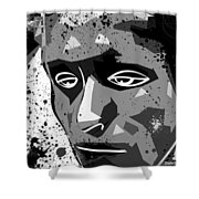 Despair Shower Curtain by Stephen Younts