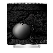 Detached Shower Curtain by Joe Russell