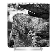 Devil's Den - 34 Shower Curtain by Paul W Faust -  Impressions of Light