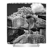 Devil's Den - 39 Shower Curtain by Paul W Faust -  Impressions of Light