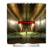 Digital Underground Shower Curtain by Yhun Suarez