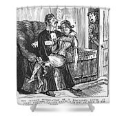 Discarded Lover, 1890s Shower Curtain by Granger