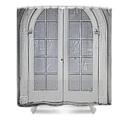 Door 20 Shower Curtain by Cheryl Young