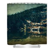 Dreams That Die Shower Curtain by Laurie Search