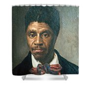 Dred Scott, African-american Hero Shower Curtain by Photo Researchers