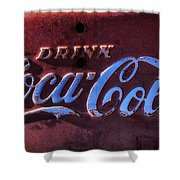 Drink Coca Cola Shower Curtain by Garry Gay