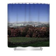 Duality  Shower Curtain by Andrea Kollo