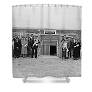 Dugout Church, 1939 Shower Curtain by Granger