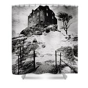 Duntroon Castle Shower Curtain by Simon Marsden