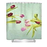 Eager For Spring Shower Curtain by Priska Wettstein