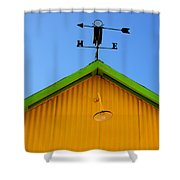 East Of The Sun West Of The Moon Shower Curtain by Bob Christopher