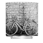 Eco Transport Shower Curtain by Georgia Fowler