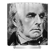Edward Fitzgerald Shower Curtain by Science Source