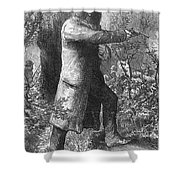 Edward (ned) Kelly Shower Curtain by Granger