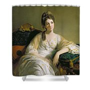 Eleanor Francis Grant - Of Arndilly Shower Curtain by Tilly Kettle