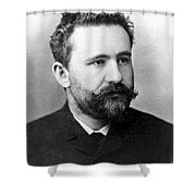 Emil Kraepelin, German Psychiatrist Shower Curtain by Science Source