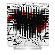 Emotion Shower Curtain by David Dehner