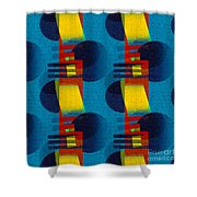 En Formes 01f Shower Curtain by Aimelle