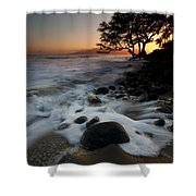 Encompassed Shower Curtain by Mike  Dawson