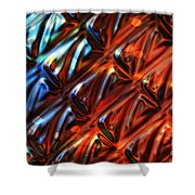 Endorphins Shower Curtain by Mo T