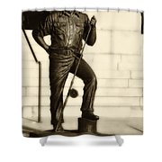 Ernest Hemingway The Old Man And The Sea Shower Curtain by Bill Cannon