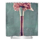 Estillo Vase - S01v4b2t03 Shower Curtain by Variance Collections