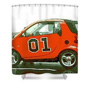 European General Lee Shower Curtain by George Pedro