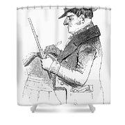 Exciseman, C1840 Shower Curtain by Granger