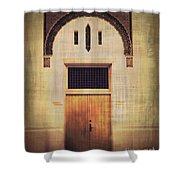 Faded Doorway Shower Curtain by Perry Webster