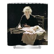 Fantine Shower Curtain by Margaret Hall