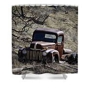 Farm Fresh Ford Shower Curtain by Steve McKinzie