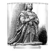 Ferdinand V Of Castile (1452-1516) Shower Curtain by Granger