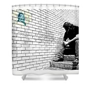 Finding Bottom Shower Curtain by Joe Jake Pratt